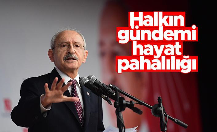 Kemal Kılçdaroğlu: Halkın gündemi ekonomi
