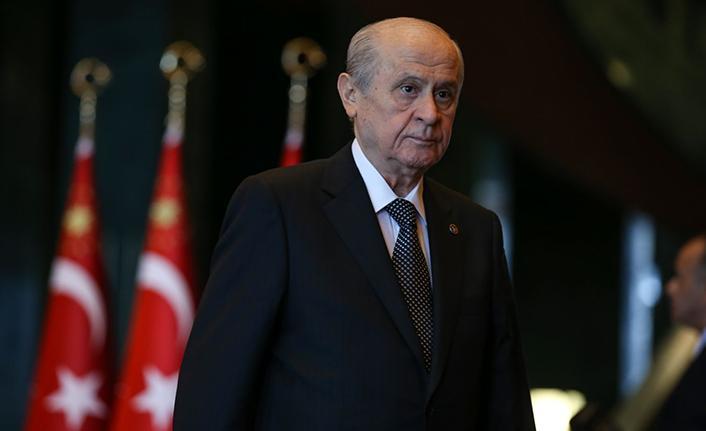 """MHP lideri Bahçeli: """"Bugün tarih bir kez daha tekerrür edecek, zillete düşen fitneciler kaybedecektir"""""""