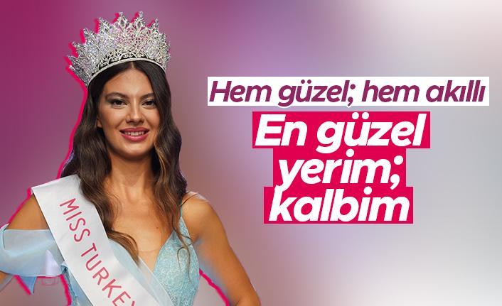 Miss Turkey 2021 güzeli Dilara Korkmaz: En güzel yerim kalbim