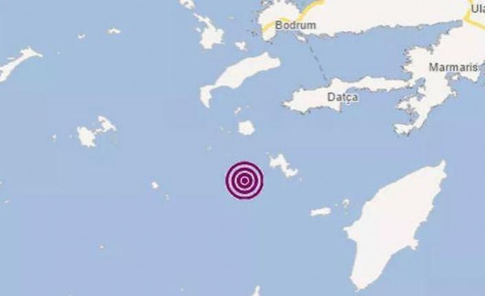 Muğla'da deprem! Datça açıklarındaki depremin büyüklüğü 4.4!