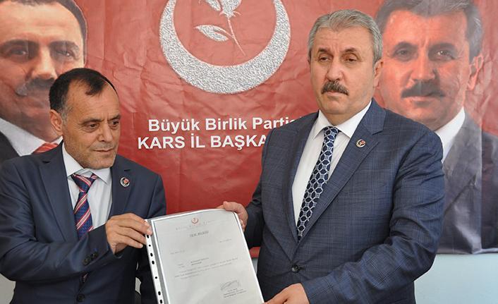 """Mustafa Destici: """"Yılın başından bu yana BBP'nin üye sayısı yüzde 130 arttı"""""""