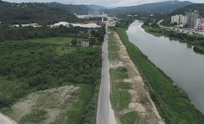 Ordu'da ikinci köprü Fatsa OSB'ye ve Bolaman trafiğine nefes aldıracak
