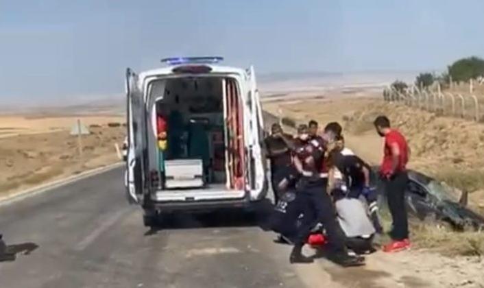 Şehit eşi trafik kazasında hayatını kaybetti