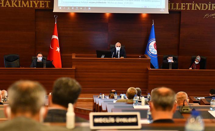 Trabzon Büyükşehir Belediyesi son oturumu yapıldı