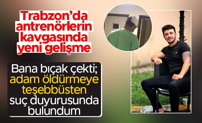 Trabzon'da yaşanan antrenörlerin kavgasında Memiş Emin Haberlobi'ye konuştu