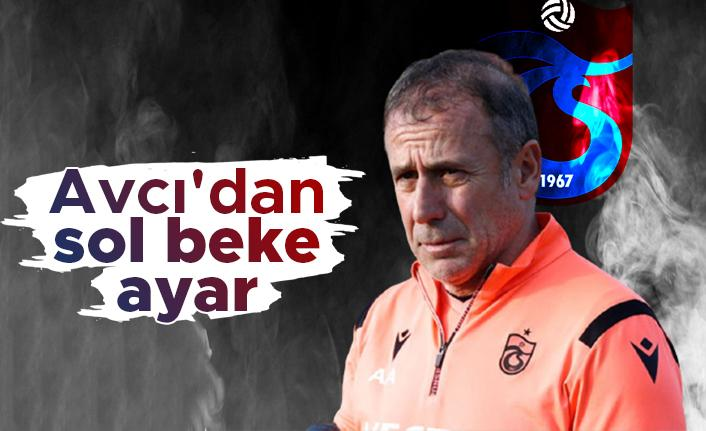 Trabzonspor'da Abdullah Avcı'dan sol beke ayar