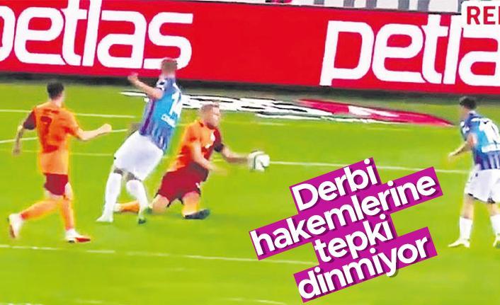 Trabzonspor'dan Galatasaray derbisinin hakemlerine sert tepki!