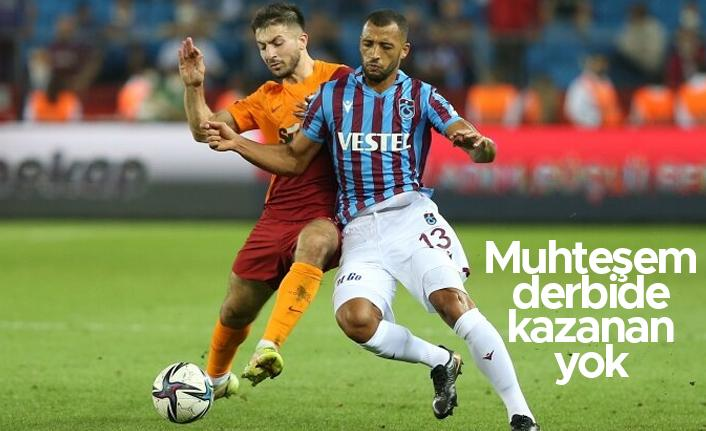 Trabzonspor - Galatasaray maç sonucu: 2-2