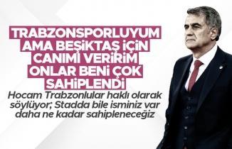 Senol Güneş: 'Trabzonsporluyum ama Beşiktaş için canımı veririm'