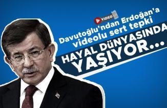 Davutoğlu'ndan Erdoğan'a videolu sert tepki