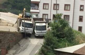 Trabzon'da kafa kafaya geldiler