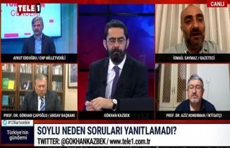 İsmail Saymaz'dan Bakan Soylu canlı yayını için dikkat çeken sözler!
