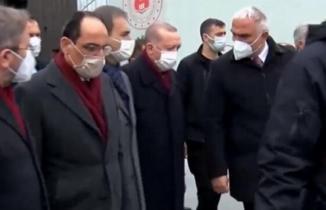 Cumhurbaşkanı Erdoğan'dan AKM'YE ziyaret