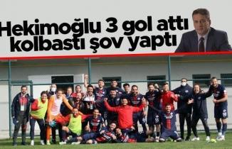 Hekimoğlu Trabzon 3 gol attı kolbastı şov yaptı