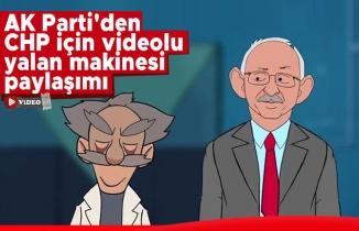 AK Parti'den CHP için videolu yalan makinesi paylaşımı