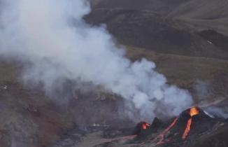 6 bin yıldır uyuyan yanardağ harekete geçti
